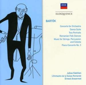 Bartok: Concerto for Orchestra, Dance Suite & other orchestral works