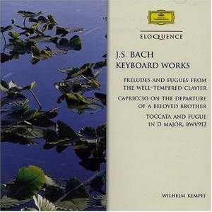 J. S. Bach: Keyboard Works Product Image