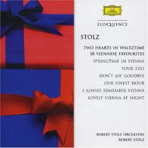 Stolz: Two Hearts in Waltztime