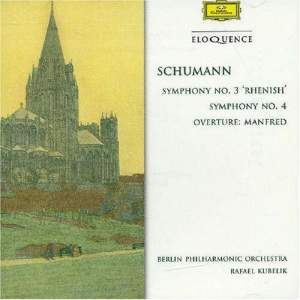 Schumann: Symphony No. 3 in E flat major, Op. 97 'Rhenish', etc.