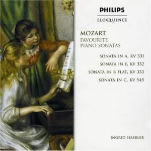 Mozart: Favourite Piano Sonatas