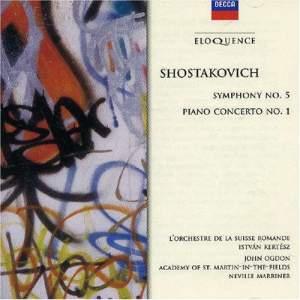 Shostakovich: Symphony No. 5 & Piano Concerto No. 1