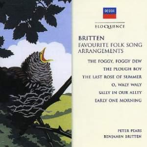 Britten: Favourite Folk Song Arrangements
