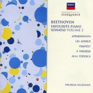 Beethoven: Favourite Piano Sonatas (Vol. 2)