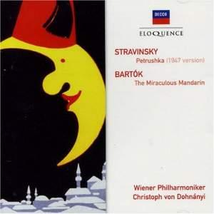 Stravinsky: Petrushka (1947 version) & Bartók: The Miraculous Mandarin