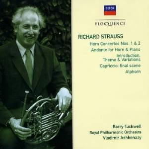 Strauss: Horn Concertos Nos. 1 & 2, Andante for horn & piano, and other works
