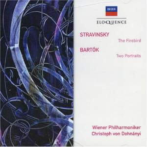Stravinsky: The Firebird & Bartók: Two Portraits