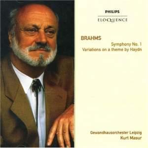 Brahms: Symphony No. 1 & St Anthony Variations