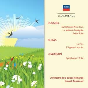 Ernest Ansermet conducts Roussel, Dukas & Chausson