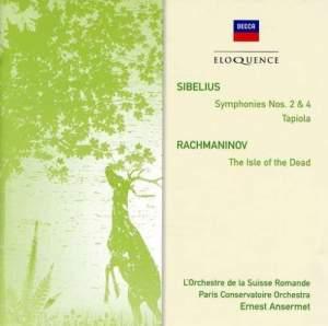 Ernest Ansermet conducts Sibelius, Rachmaninov