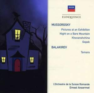 Mussorgsky: Pictures at an Exhibition, A Night on the Bare Mountain & other works