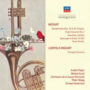 Mozart: Symphony No. 38 and Flute Concerto No. 2