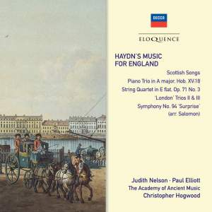 Haydn's Music For England