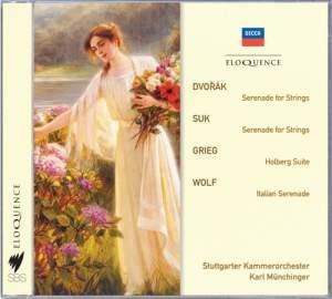 Karl Münchinger conducts Dvorak, Suk, Grieg & Wolf