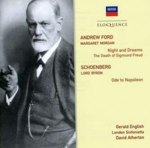 Ford: Night and Dreams & Schoenberg: Ode to Napoleon Buonaparte