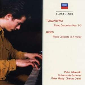 Tchaikovsky and Grieg: Piano Concertos