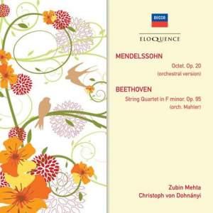 Mendelssohn: Octet & Beethoven: String Quartet No. 11