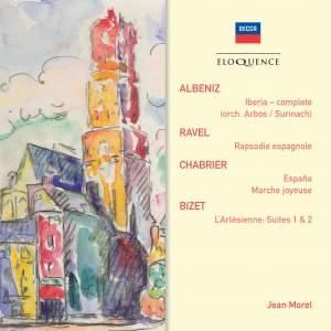 Jean Morel conducts Albéniz, Ravel, Chabrier & Bizet