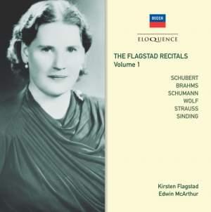 The Flagstad Recitals Volume 1