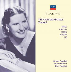 The Flagstad Recitals Volume 2