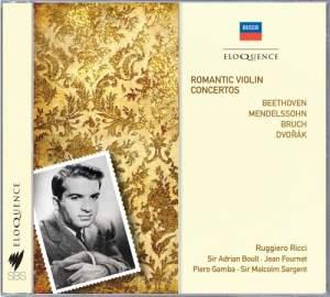 Ruggiero Ricci - Romantic Violin Concertos