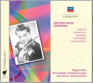 Ruggiero Ricci - Virtuoso Violin Concertos