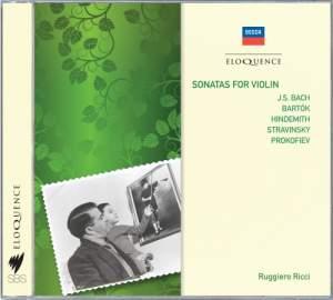 Ruggiero Ricci - Violin Sonatas
