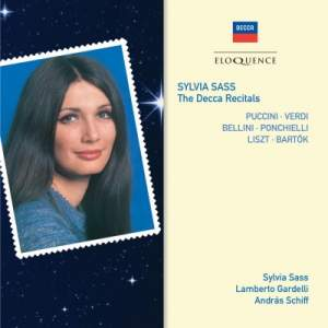 Sylvia Sass – The Decca Recitals