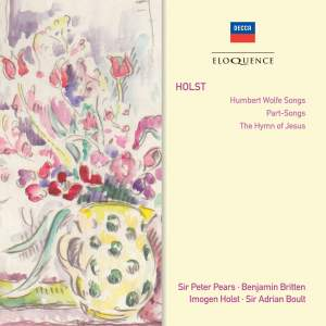 Holst: Vocal Works