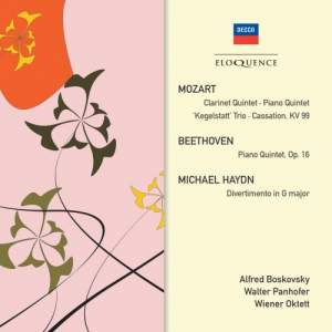 Vienna Octet play Mozart, Beethoven & M. Haydn