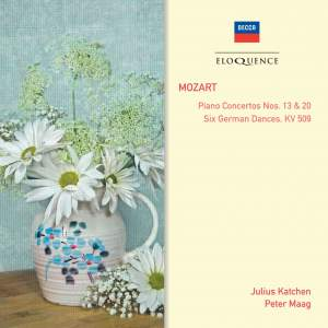 Mozart: Piano Concertos Nos. 13 & 20 & Six German Dances, KV 509