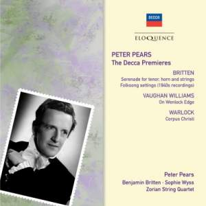Peter Pears – The Decca Premieres