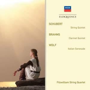 Fitzwilliam String Quartet Play Schubert, Brahms & Wolf