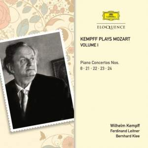 Kempff plays Mozart Volume I