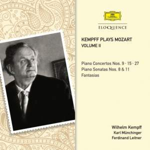 Kempff plays Mozart Volume II