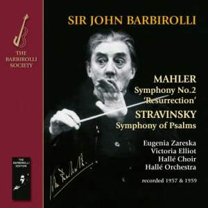 Sir John Barbirolli conducts Mahler & Stravinsky Product Image