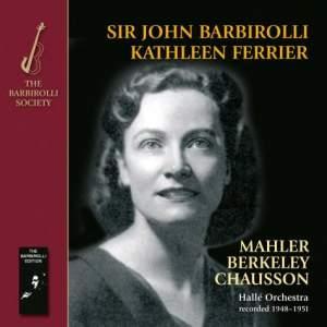 Kathleen Ferrier & Sir John Barbirolli