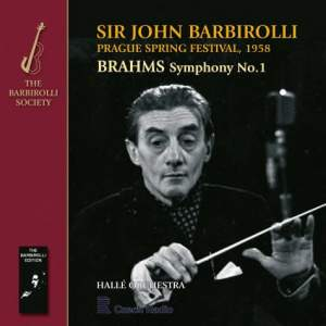 Sir John Barbirolli conducts Weber & Brahms