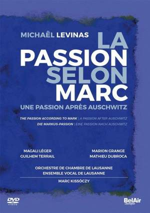 Levinas: The Passion according to Mark Product Image