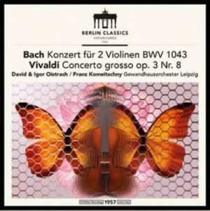JS Bach: Double Concerto for Violins & Vivaldi&#x3B; Franck