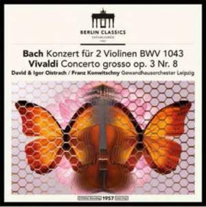 JS Bach: Double Concerto for Violins & Vivaldi&#x3B; Franck - Vinyl Edition