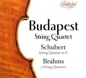 Budapest Quartet play Brahms & Schubert