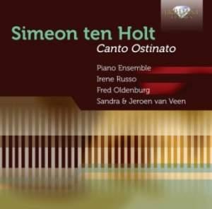 Holt, Simeon: Canto Ostinato, for four pianos