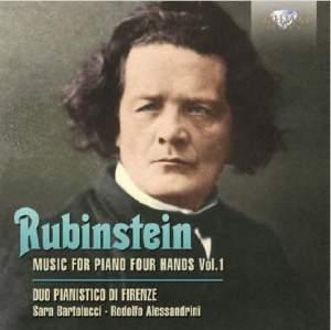 Rubinstein: Music For Piano 4 Hands Volume 1
