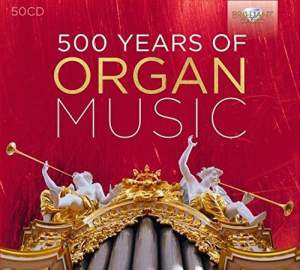 500 Years of Organ Music