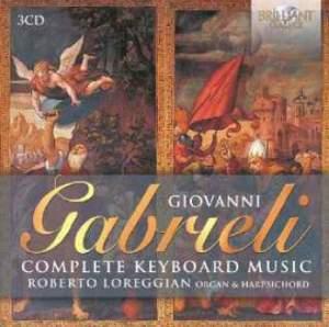 G. Gabrieli: Complete Keyboard Music