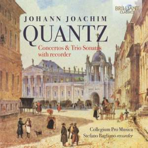 Quantz: Concertos & Sonatas with Recorder Product Image