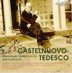 Castelnuovo‐Tedesco: Shakespeare Sonnets & Duets
