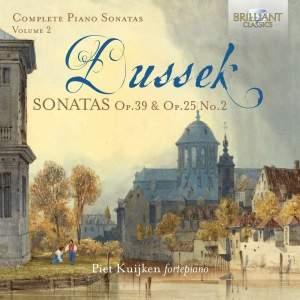 JL Dussek: Complete Piano Sonatas Volume 2