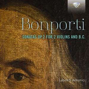 Bonporti: Sonatas Nos. 1 - 10, Op. 2 for two violins and B.C.
